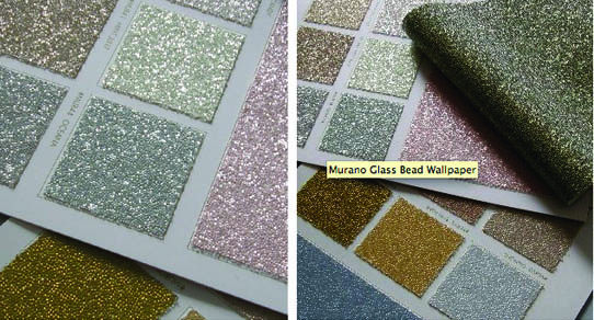 sparkle wallpaper glass beaded glitter color