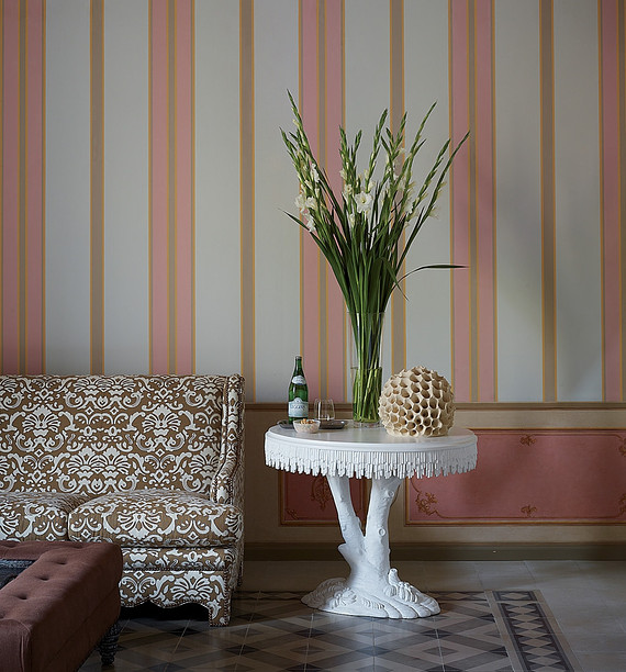 Palazzo Margherita Francis Ford Coppola italy pink hotel
