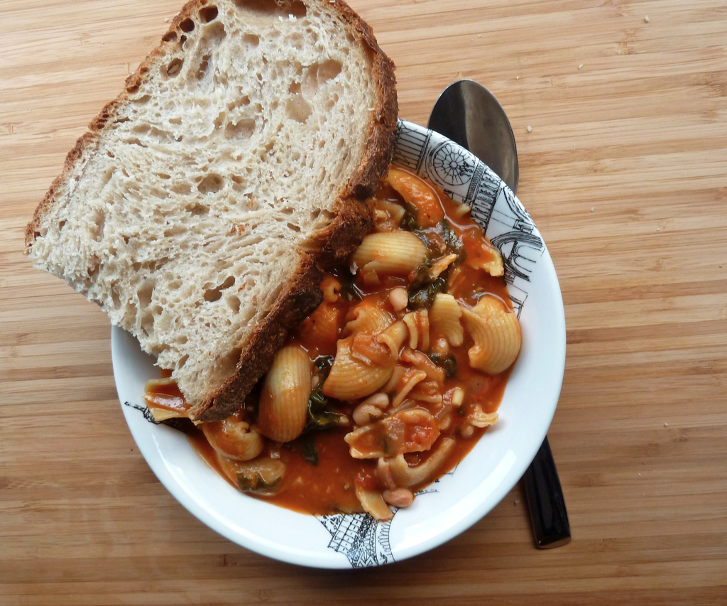 pasta fagioli soup italian
