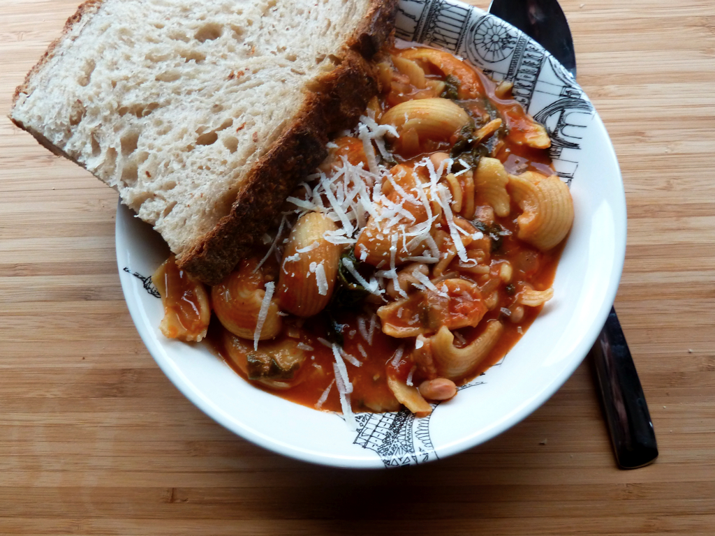pasta fagioli soup italian