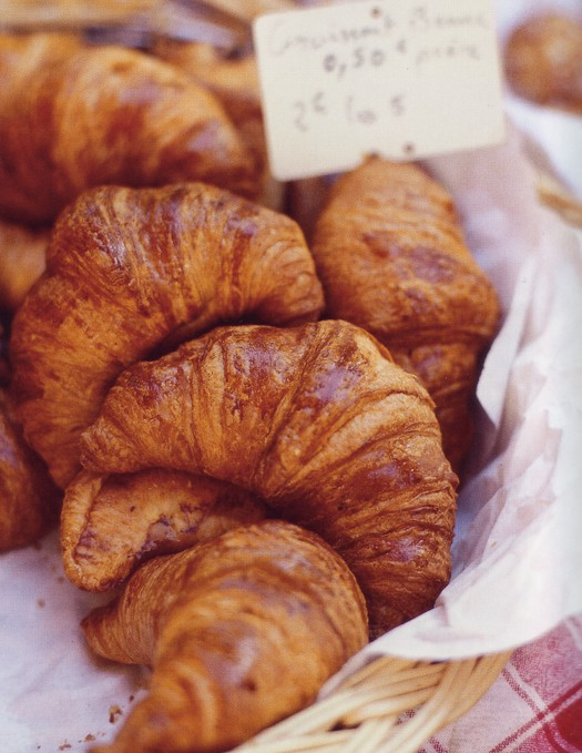 croissants French France Paris