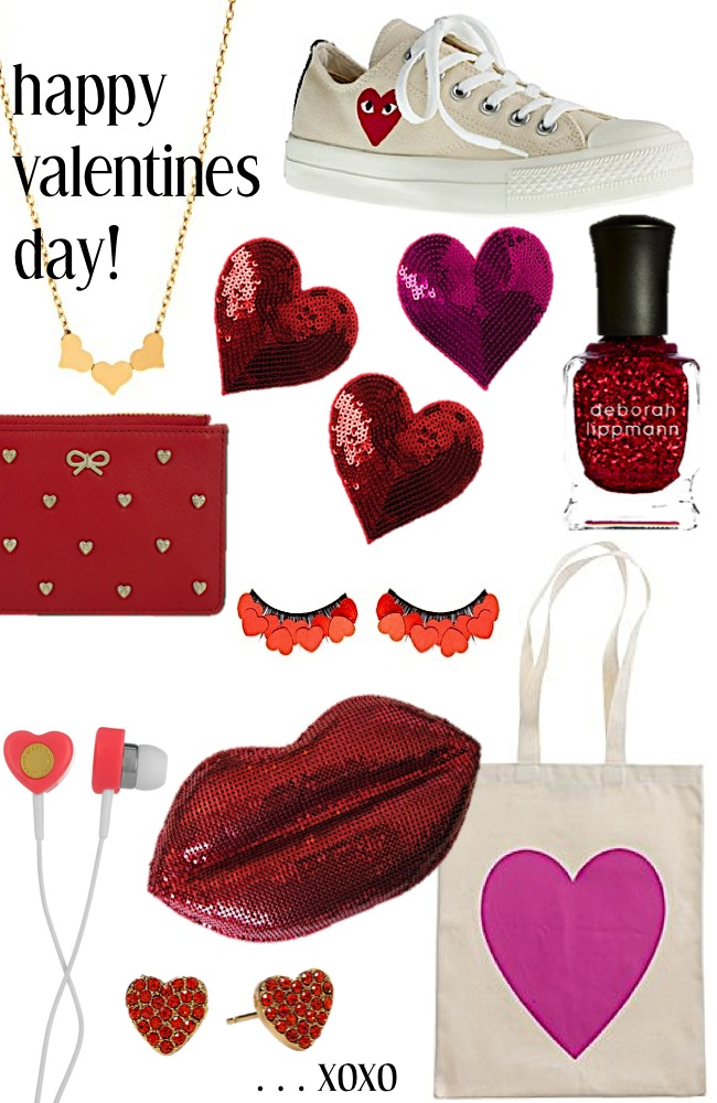 Valentine's Day guest post Sequins and Stripes