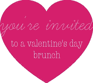 Valentine's Day Chevrons & Éclairs guest post brunch