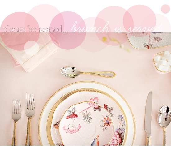 Valentine's Day Chevrons &amp; clairs guest post brunch