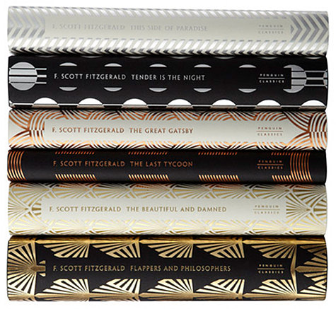metallic books F Scott Fitzgerald