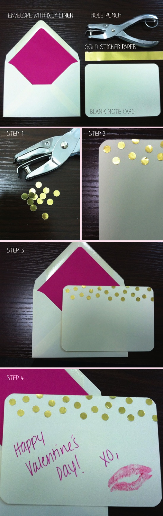DIY Valentine's Day card Suite Paperie