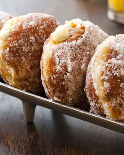 Vanilla Cream-Filled Doughnuts Martha Stewart