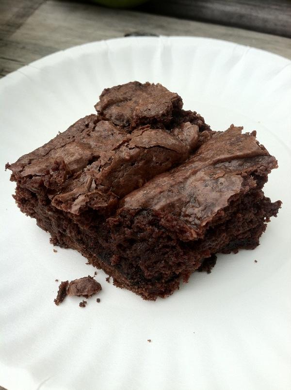 thin mint brownies chocolate dessert