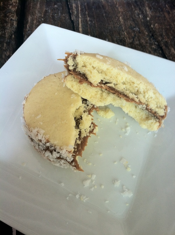 Alfajor cookies dolcezza