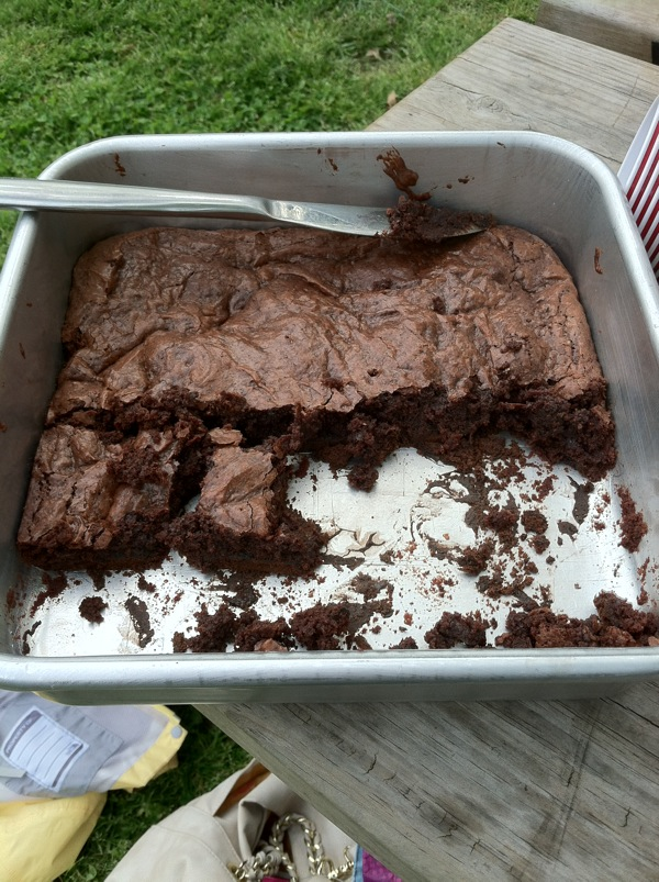 thin mint brownies chocolate dessert