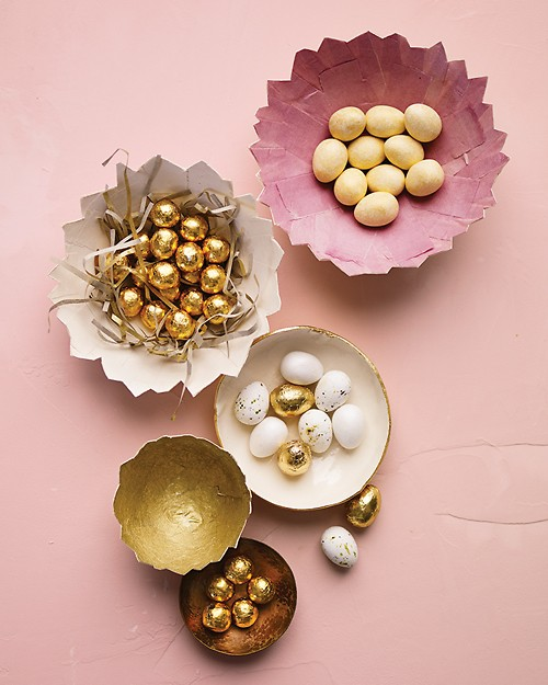 pink gold easter martha stewart eggs
