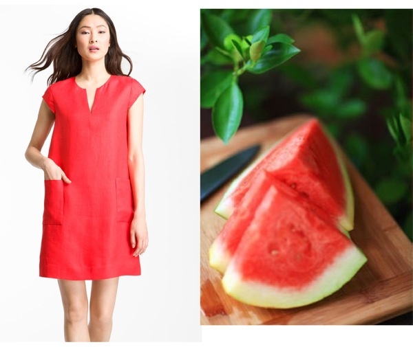 side by side Kate Spade watermelon frock pink Shannon I love your crazy