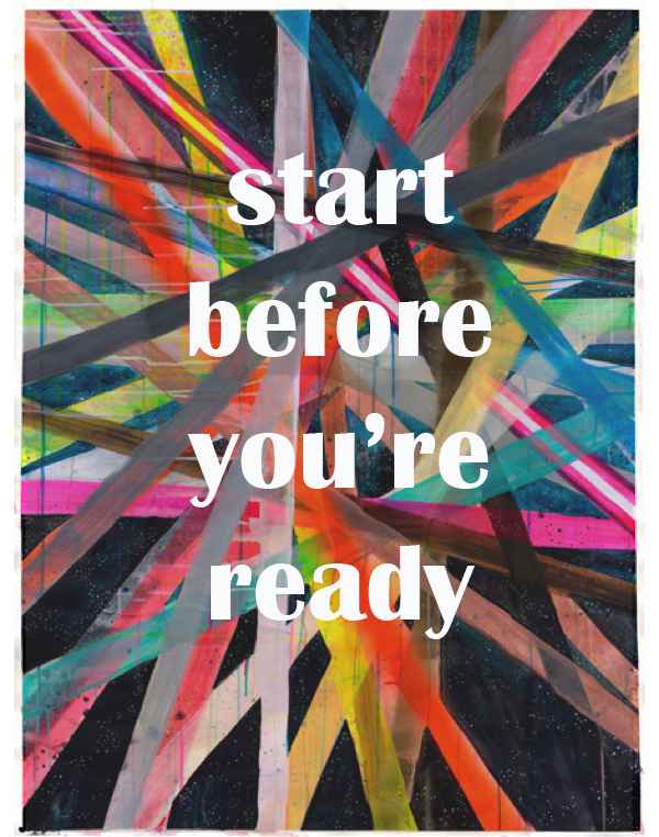 start before you're ready quote CGIU Clinton