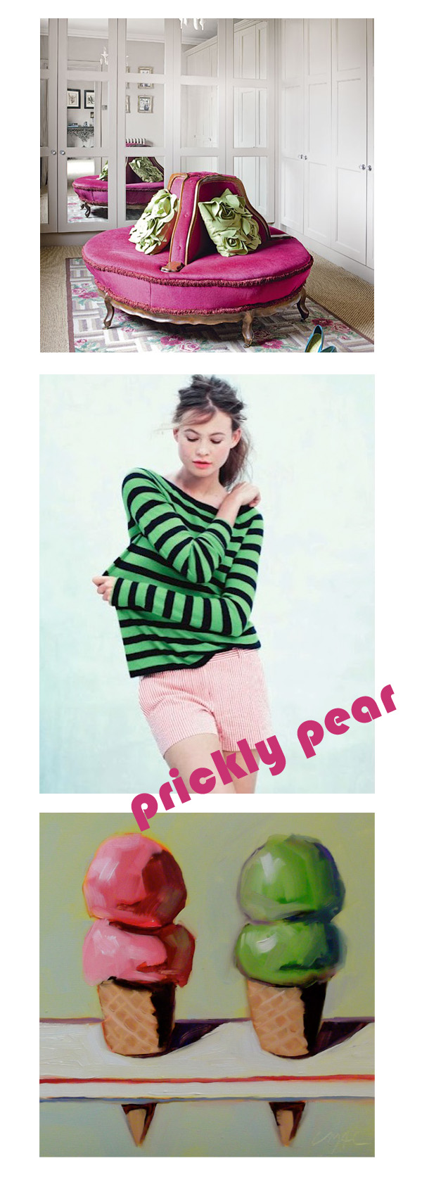 prickly pear pink green