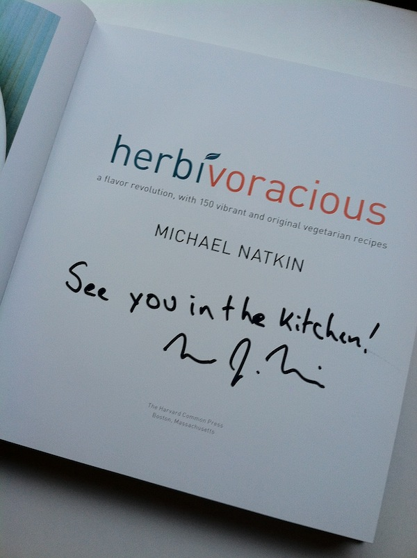 Herbivoracious Michael Natkin cookbook vegetarian see you in the kitchen