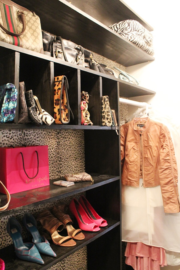 Made by Girl's Leopard Wallpaper Closet