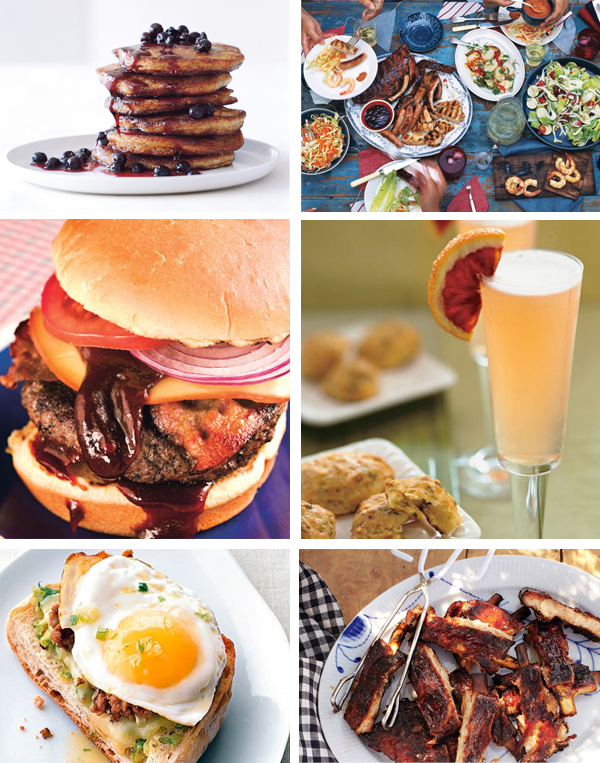 A weekend full of barbecues and brunches from bon appetit magazine