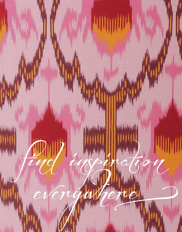 Find Inspiration Everywhere, like in this Anthropologie chair