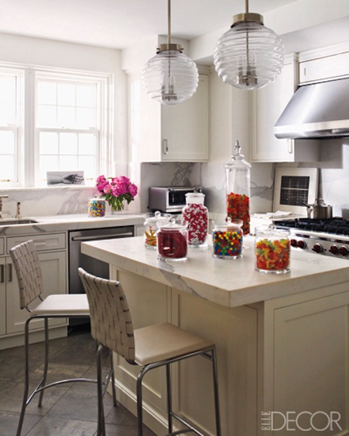 Ashley Stark kitchen in Elle Decor