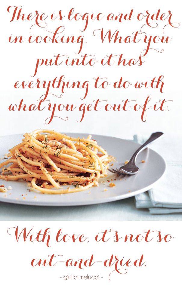 I loved I lost I made spaghetti by Guila Melucci book quote