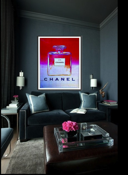 Chanel print by thirteenwestdesign