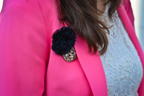 Nikki Rappaport What I Wear to Work Washingtonian Magazine - pink zara blazer