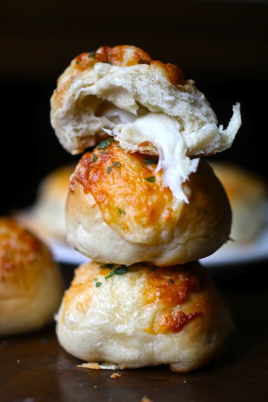 Cupcakes for Breakfast: stuffed cheese balls