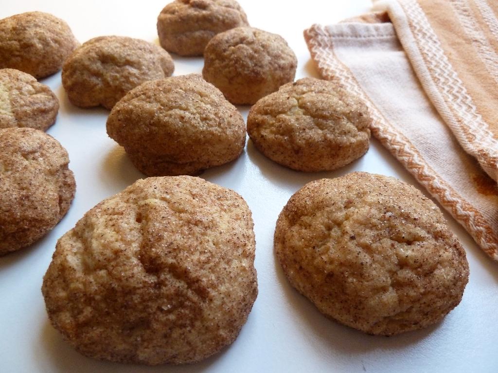Cupcakes for Breakfast: pumpkin snickerdoodle cookies