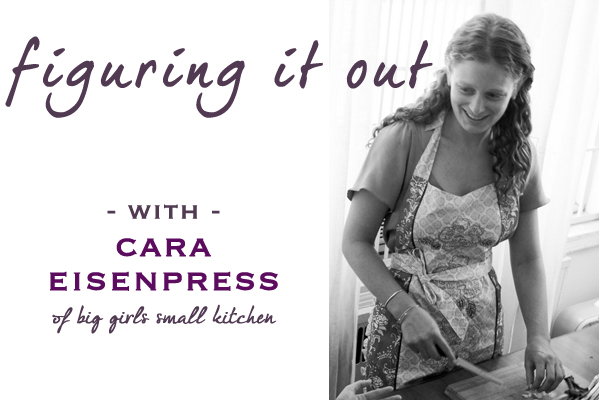 Cupcakes for Breakfast: Figuring it Out with Cara Eisenpress