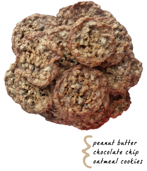 Cupcakes for Breakfast: Peanut butter chocolate chip oatmeal cookies
