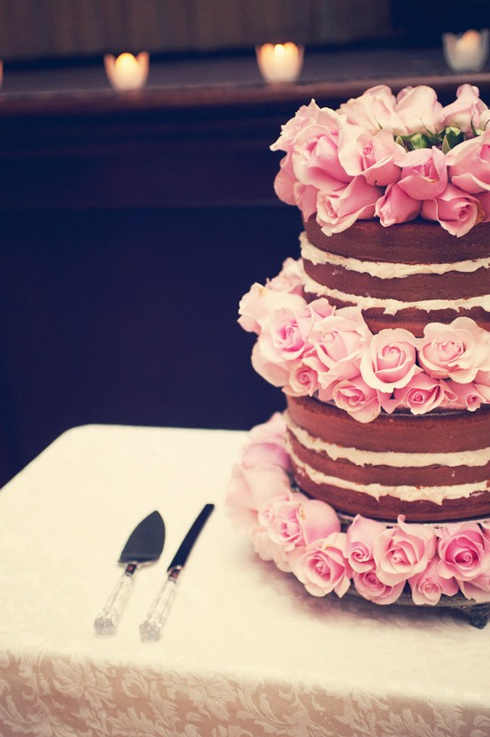 chocolate rose layer cake