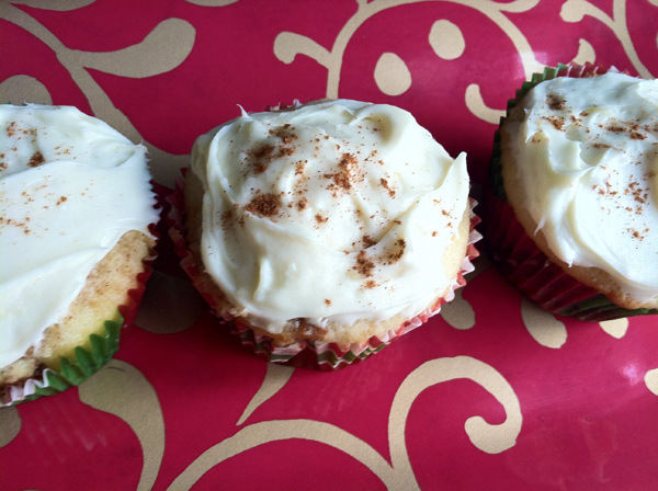 Cupcakes for Breakfast: cinnamon roll cupcakes
