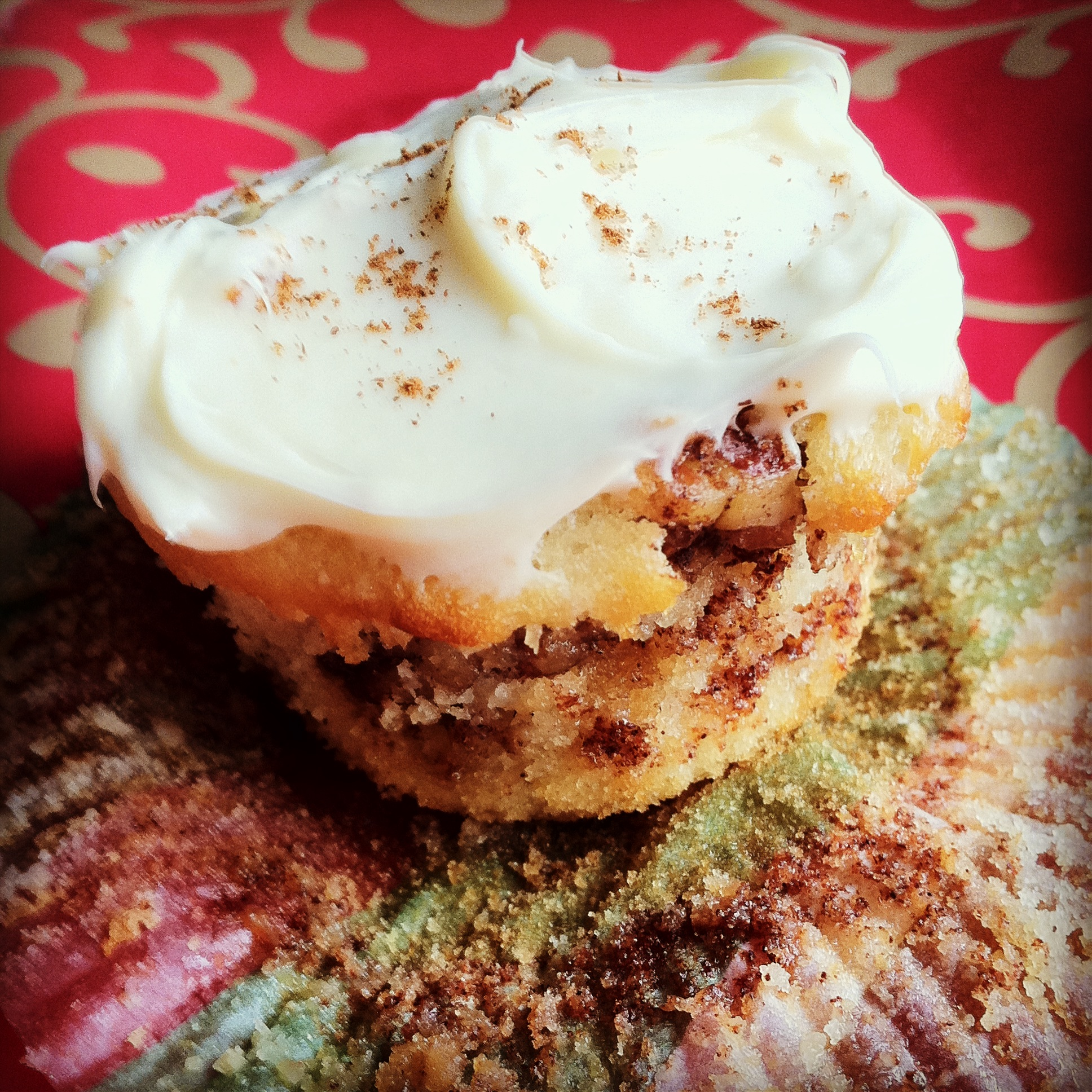 cinnamon roll cupcakes instagram