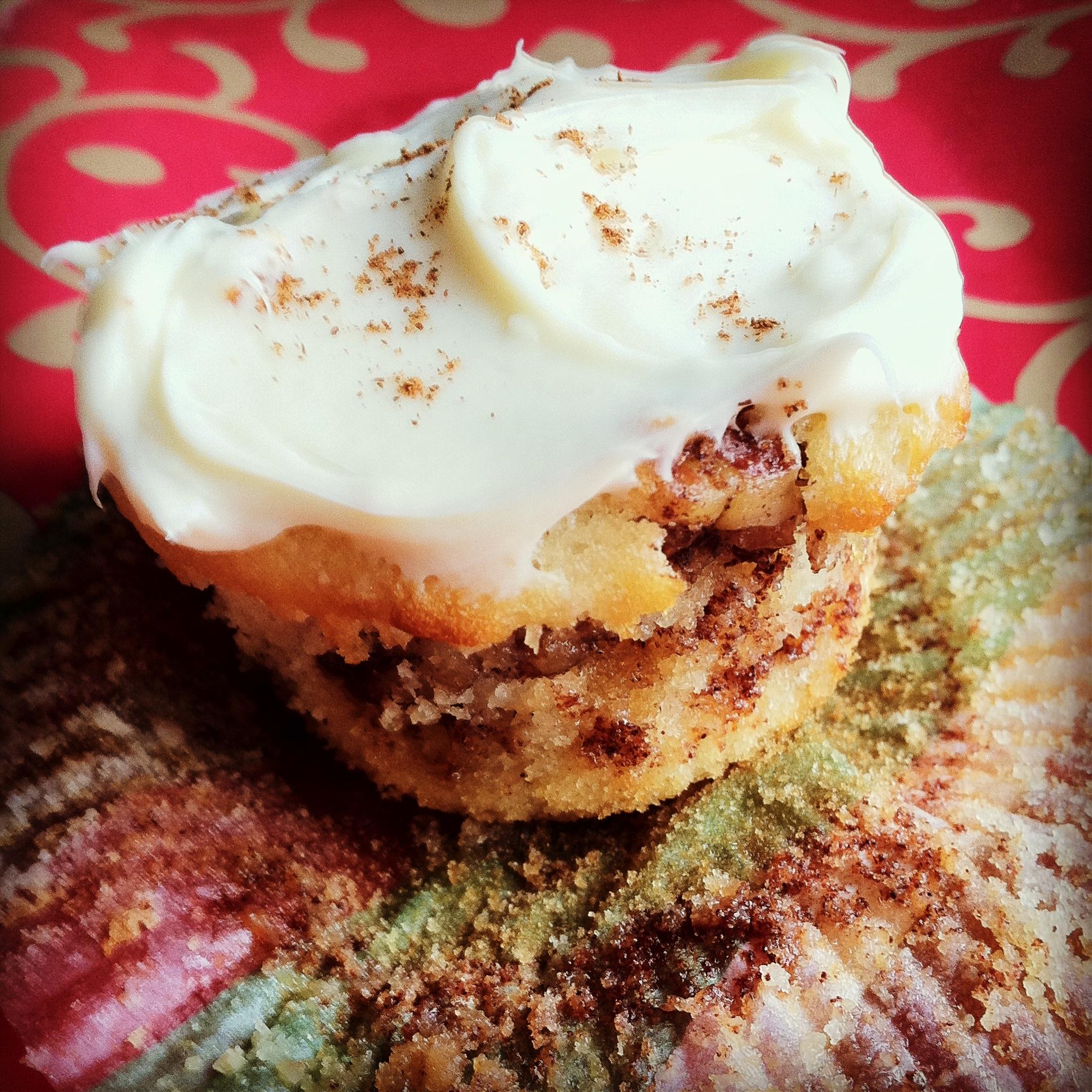 cinnamon roll cupcakes instagram