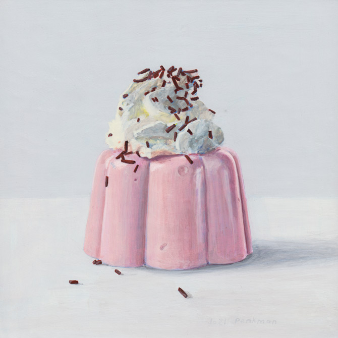 Joel Penkman blanc mange pink dessert