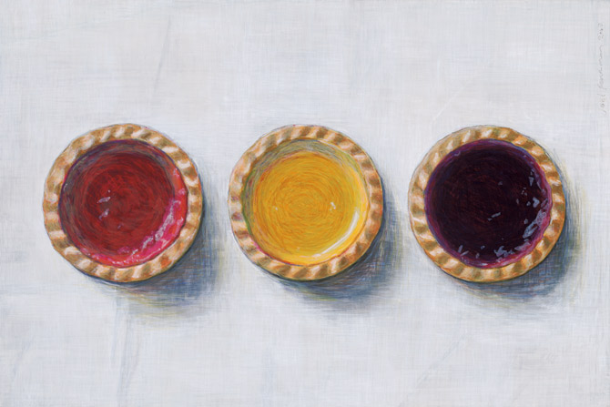 Joel Penkman jam tarts