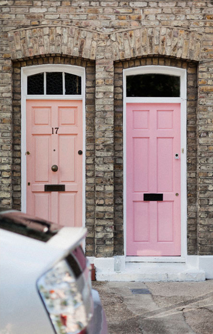 two pink doors by park & cube