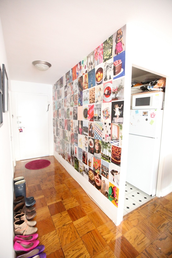 Cupcakes for Breakfast: DC studio apartment tour  magazine wallpaper