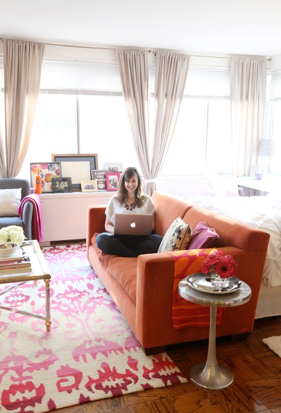 Cupcakes for Breakfast: DC studio apartment tour Nikki Rappaport