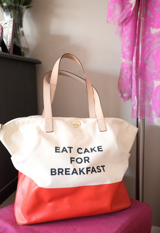 Cupcakes for Breakfast: DC studio apartment tour  kate spade eat cake for breakfast