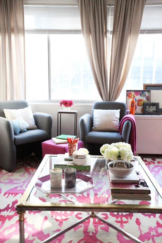 Cupcakes for Breakfast: DC studio apartment tour