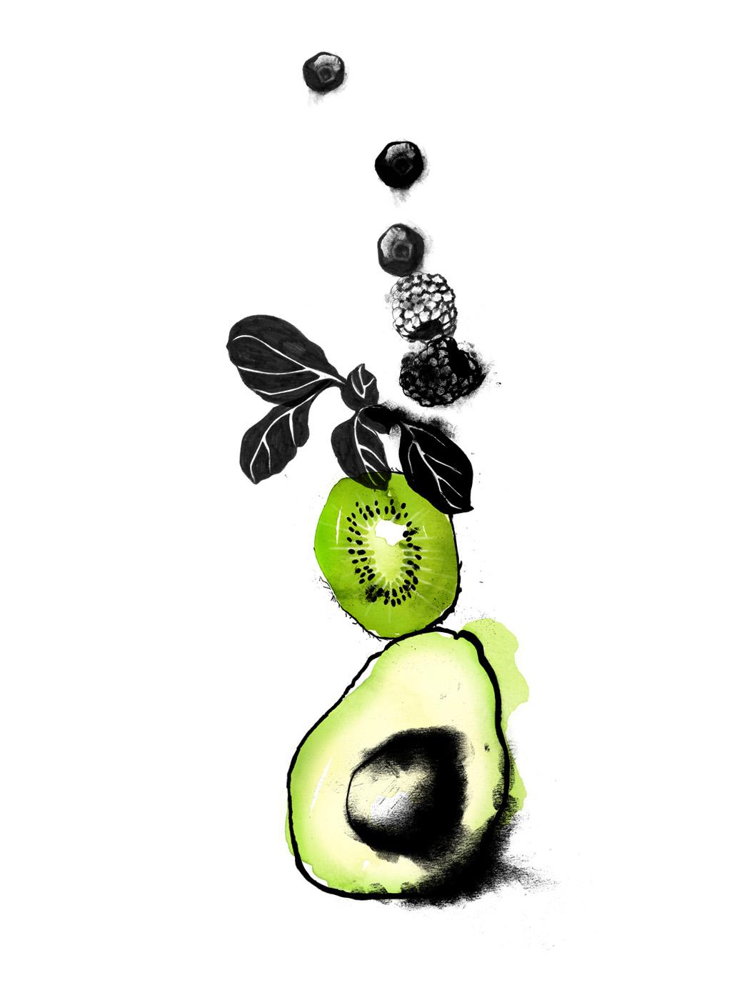 Christina Drejenstam avocado kiwi