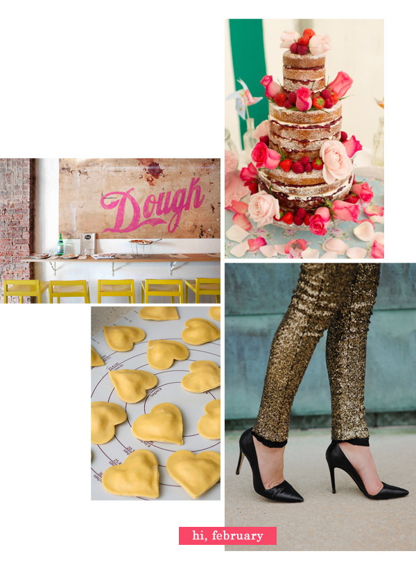 Cupcakes for Breakfast: February – cake, pink, hearts, dough, red, sparkle