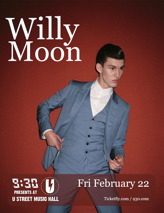 Cupcakes for Breakfast: Willy Moon at U Street Music Hall