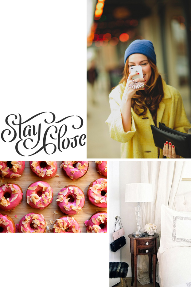 Cupcakes for breakfast: doughnuts, stay close, yellow, bedroom