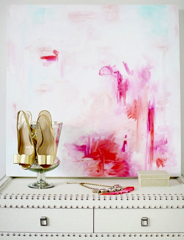 Bright Pink painting Dallas Shaw the Every Girl