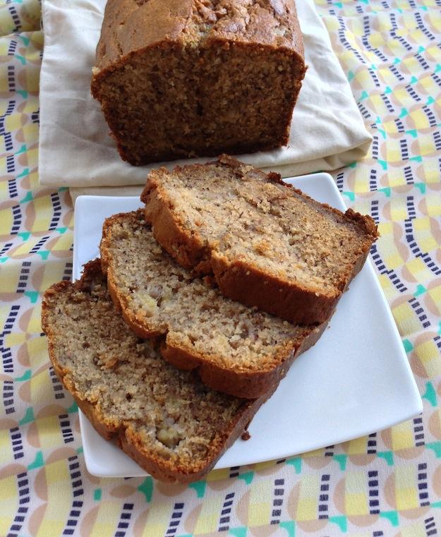 Cupcakes for Breakfast: morning banana bread