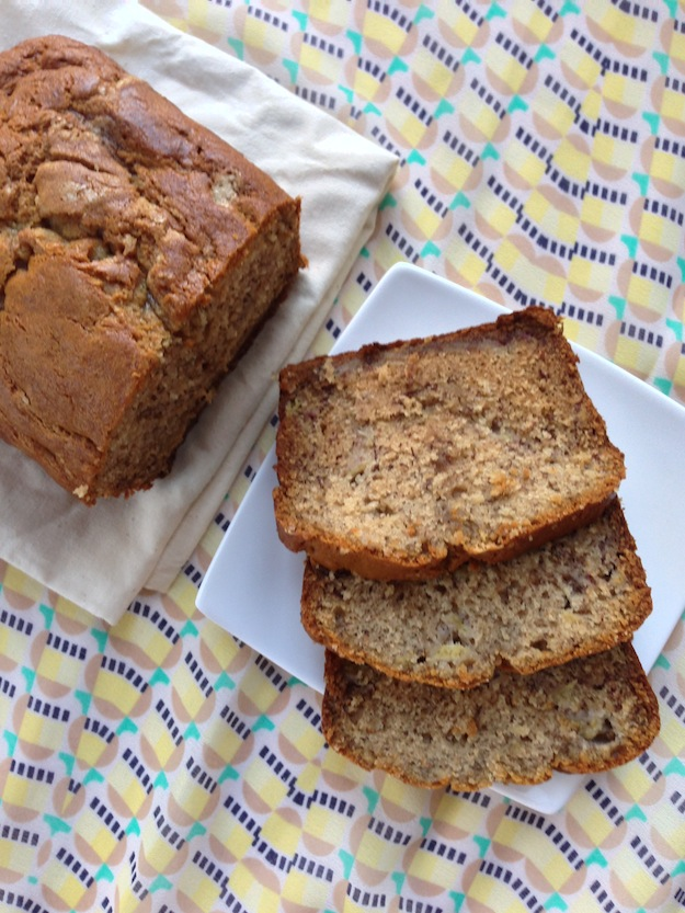 Cupcakes for Breakfast: morning banana bread