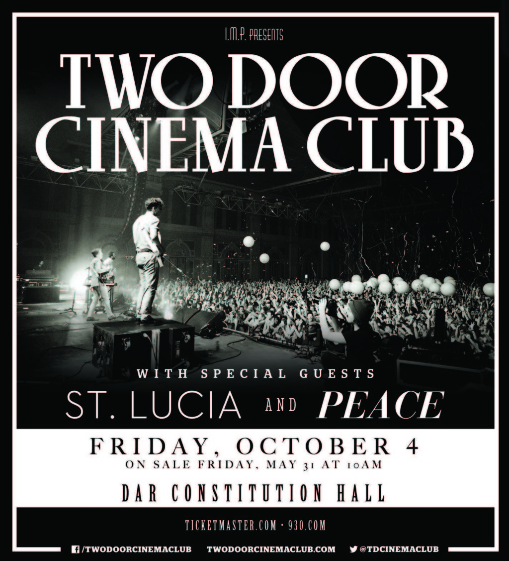 Cupcakes for Breakfast: Two Door Cinema Club Giveaway