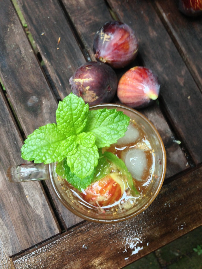 Cupcakes for Breakfast: Fig Fest Fig Bourbon Fizz